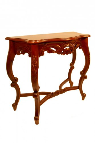 Chippendale Console Table Acorn Carved For Sale