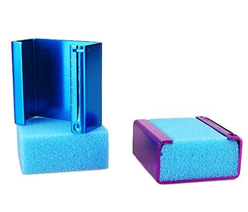 2pcs Endo Foam Sponges K ENDO CUSHION Root Canal File Holder w/Ruler