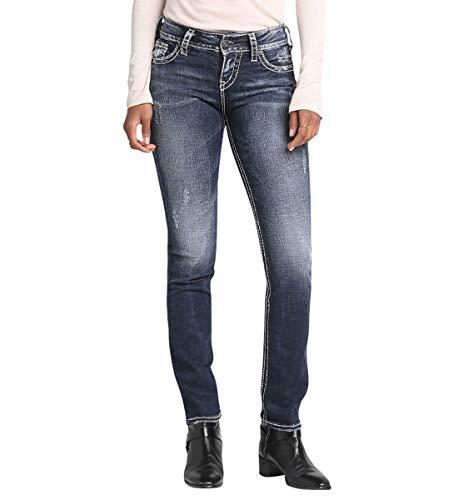 Silver Jeans Co. Suki Mid Rise Straight Leg ()