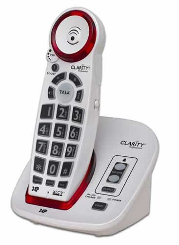 New-59522.000 DECT Cordless phone 50dB - CLARITY-XLC2