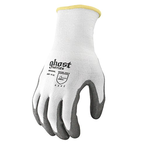 Ghost Cut Resistant Glove, 13 Guage Hppe Shell With