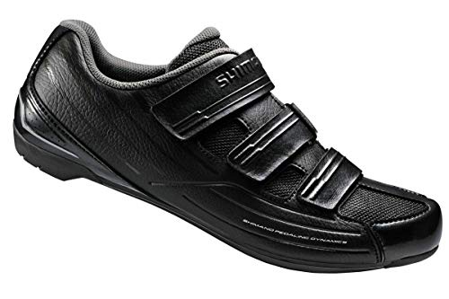 Shimano 2017 Men's Sport Touring Road Cycling Shoes SH-RP2 42 M EU / 8.3 D(M) US (Black/Black) (Best Bicycle Touring Shoes)