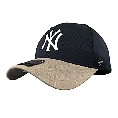 47 Brand MLB Boys' New York Yankees Snapback Hat (One Size, Grey)