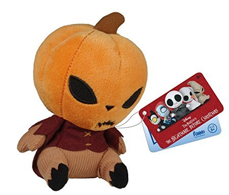 Nightmare Before Christmas Pumpkin King Mopeez Plush
