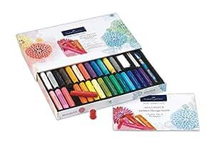 Faber-Castell Gelatos Original Gift Set - 28 Colors - Multi-Purpose Art Color Sticks Set