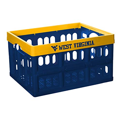 - NCAA Fabrique Innovations Collapsible Crate, West Virginia Mountaineers