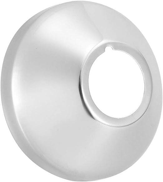 3 St/ück Sourcing Map Runde Rosettenplatte poliert f/ür Rohre mit 21 mm Durchmesser Edelstahl