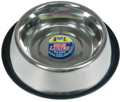 High Lustre SS No Tip Dish 24oz