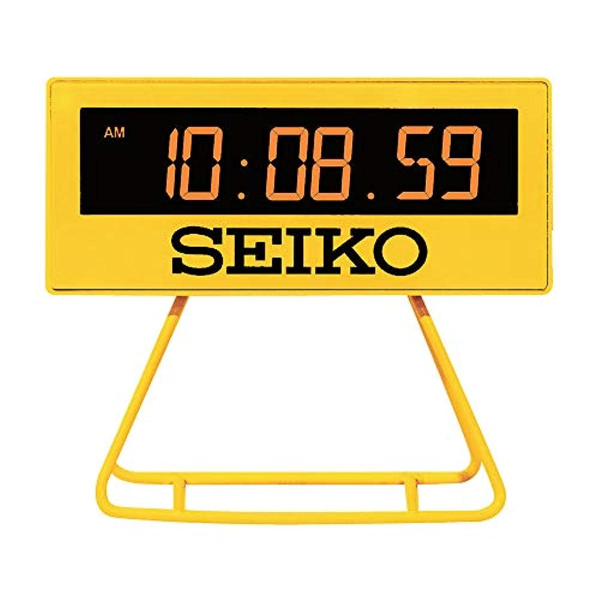 [해외] SEIKO세이코 디지털 미니 알람시계 SQ815Y