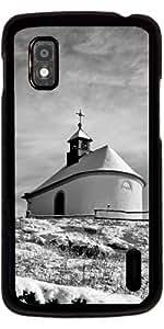 Funda para Google Nexus 4 - Capilla En La Nieve by PINO