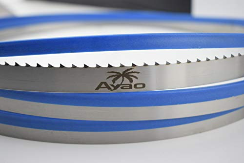 AYAO 65-Inch X 1/2-Inch X 4TPI Hardened Teeth Band Saw Blade