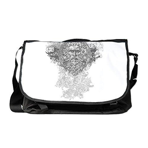 Royal Lion Laptop Notebook Messenger Bag Look Like a Greek - Lion Versace