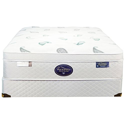 Spring Air Twin Back Supporter Platinum Opal Euro Top Mattress