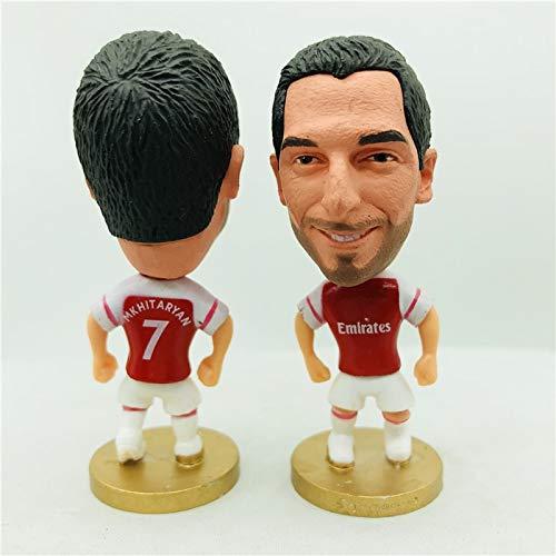 Mkhitaryan 7# Arsenal Dolls Figurine| Football Star |Size 2.5 inch