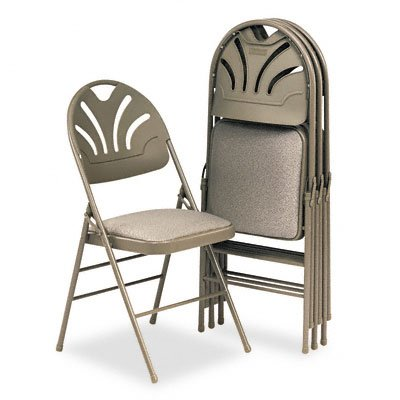fan back folding chairs - 5