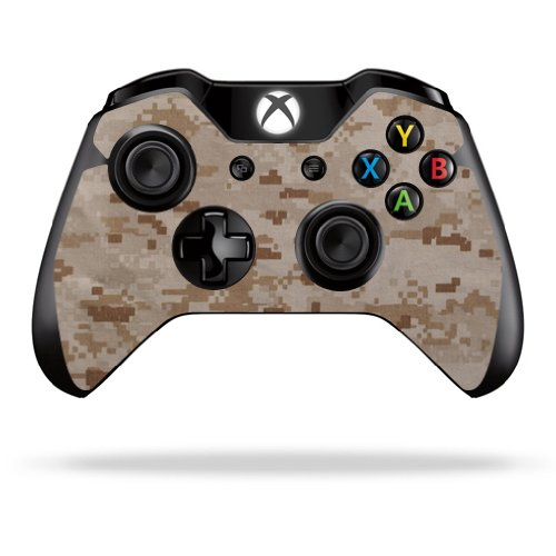MightySkins Skin For Microsoft Xbox One or One S Controller - Desert Camo | Protective, Durable, and Unique Vinyl Decal wrap cover | Easy To Apply, Remove, and Change Styles | Made in the USA ()