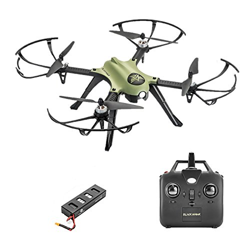 Altair Aerial Blackhawk Long Range & Flight Time Drone w Camera Mount (GoPro Hero3 and Hero 4 Compatible) Extreme Speed & Handling, Heavy Duty Construction, Powerful Quadcopter by Altair Aerial