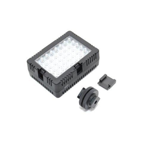 JJC LED-48D Video LED light For DSLR Camera Camcorder Canon Sony Nikon & Standard Shoe by JJC