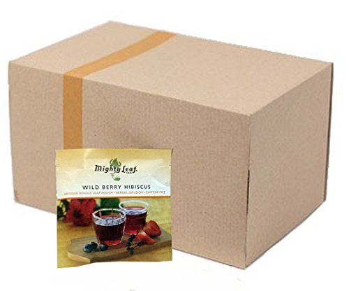 Mighty Leaf Wild Berry Hibiscus Herbal Tea (100 (100 Wild Berry)