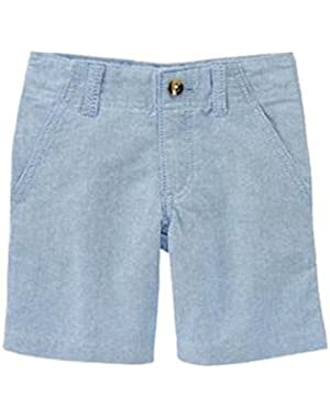 Baby / Toddler Boy's Costal Blue Oxford Shorts