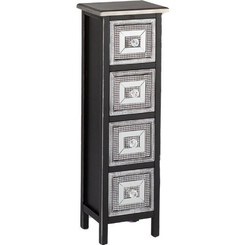 Franklin 4-Drawer Storage Tower