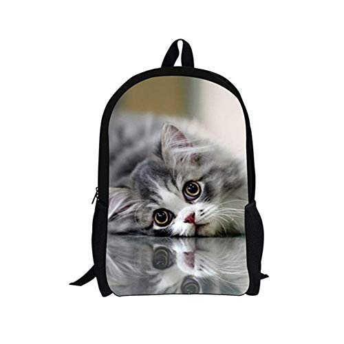 DIY Fashion Animal Backpack Primary School Bag for Teenagers Student