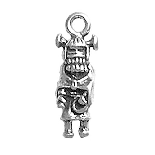 925 Sterling Silver INDIAN MAIDEN Charme Made in USA