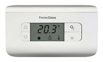 Termostato ambiente fantini cosmi ch115 condizionatore for Istruzioni termostato fantini cosmi