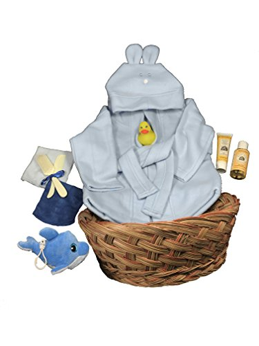 baby bath gift basket - 9