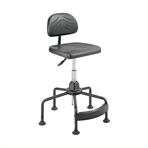 Safco Products 5117 Task Master Economy Industrial Chair (Additional options sold separately), Black by Safco Products