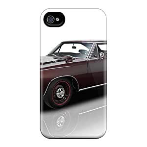 Premium Iphone 4/4s Case - Protective Skin - High Quality For Plymouth Gtx '1968