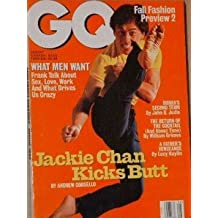 GQ Magazine August 1996 Jackie Chan (Single Back Issue)