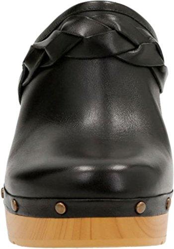 CLARKS Womens Ledella Meg Black Leather cheap release dates crsnzE00dt