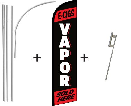 Vapor (Red) Windless Banner & Pole Kit Review