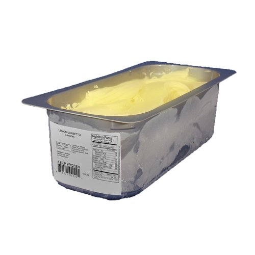 Sorbet, Lemon Frozen - 143 oz (Pack of 2) by G.S. Gelato