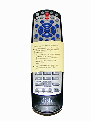Dish Network 21.1 IR/UHF PRO Universal Remote (Remote Control For Dish Network)
