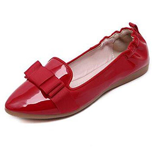 CFP - Zapatillas de danza de Seda para mujer Rojo rojo mr1AUs