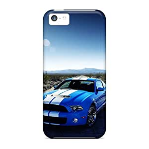 XiFu*MeiMycase88 Cases Covers Protector Specially Made For iphone 6 plua 5.5 inch Ford Shelby Gt500 CarXiFu*Mei