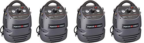 PORTER-CABLE CMB15 150 PSI 1.5 Gallon Oil-Free Fully Shrouded Compressor 4- Pack