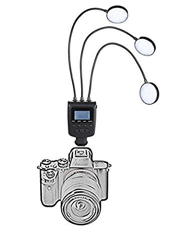 Led 2 Macro Flexible Arm Light Flash - 4