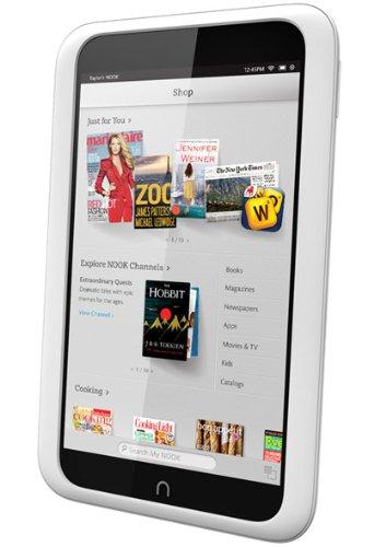 amazon com barnes noble nook hd tablet 8gb grey bntv400 8gb