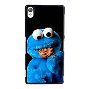Sony Xperia Z3 Cell Phone Case Black Cookie Monster ST1YL6770353