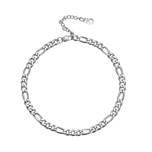 CTRCHUJIAN Fashion Style Fashion Figaro Chain Anklet Gold Steel Color Foot Jewelry Jewelry Unisex Daily wear
