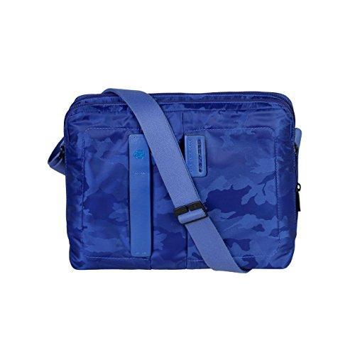 Piquadro Bolsa portadocumentos Reporter Azul Vivo