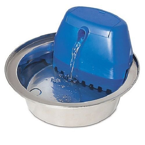Aqua Stream Stainless Steel Pet Fountain