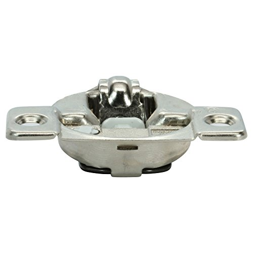 50 Pack Rok Hardware Grass TEC 864 108 Degree 1/4'' Overlay 3 Level Soft Close Screw On Compact Cabinet Hinge 04429A-15 3-Way Adjustment 45mm Boring Pattern by Rok (Image #1)