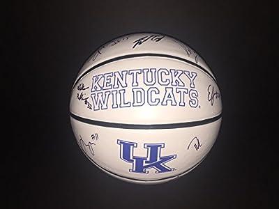 2015-16 Kentucky Wildcats Multi Signed Basketball w/COA Team B