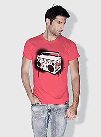 Creo Music Radio Trendy T-Shirts For Men - S, Pink