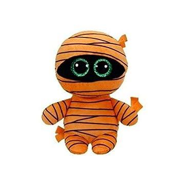 Ty TY-37241 Beanie Boos Halloween Mask-Momia Naranja 15 cm (37241TY)