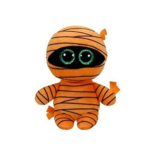 Ty Beanie Babies Boos 37241 Mask The Orange Mummy Halloween Boo -